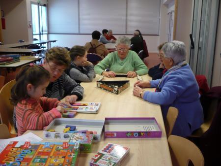 Après-midi jeux inter-générations du 17 février 2009