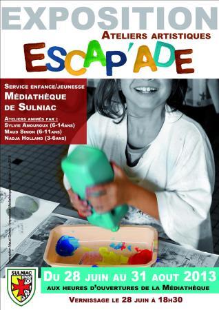Ateliers arts plastiques Escap'A.D.E. 2012-2013